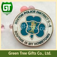 China High quality Hard enamel challenge coin with smooth surface and small moq on sale