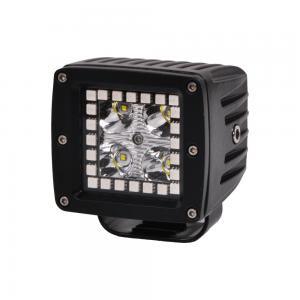 Quality 3.2 Inch 12w RGB Offroad Led Work Light , 12V 24V LED Work Light ATV SUV Mine Boat Lamp 4WD for sale