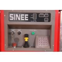 Quality SINEE 55 kw Inverter Building Material Hoist with 400kg Lifting Device on Cage Top for sale
