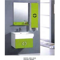 hanging cabinet / PVC bathroom cabinet / wall cabinet  / white color for sanitary ware 60X48/cm