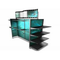 Buy cheap Colorful Panle Inside Retail Clothing Display Racks / Shop Display Shelving from wholesalers