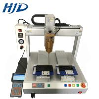 Buy cheap Carbon Steel 3 Axis Glue Dispenser , Adhesive Automatic Glue Dispenser Robot from wholesalers