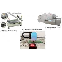 Quality PCB Manufacturing Equipment SMT Production Line Manual Pick And Place Machine for sale