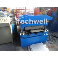 Quality Iron Sheet Metal Roof Cold Roll Forming Machine With Manual Uncoiler Machine for sale
