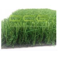 Quality Soft PE Material Residential Artificial Grass Natural Appearance For Yards for sale