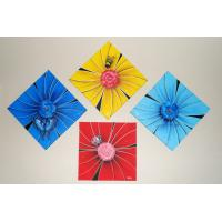 Quality flower painting ornament wall art for sale
