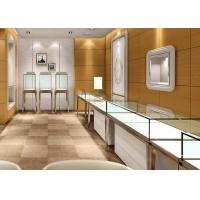 Quality Jewellery Shop Display Cabinets / Store Display Cases Eco - Friendly Material for sale