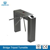 Quality High Sensitivity Pedestrian Tripod Turnstile Gate UT550-C Access System Support Fire Alarm for sale