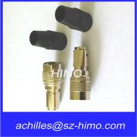China Push pull self-locking 12 pin circular connector for audio and video equipment on sale