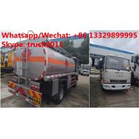Quality Factory sale high quality and lower price JAC 4*2 LHD 5500L oil tanker fuel transport truck diesel tank truck for sale