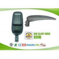 Quality IP65 Waterproof LED Roadway Lighting Fixtures 80w With Photocell for sale
