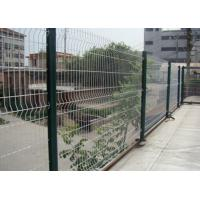 Quality White Color Triangle Bending Wire Mesh For Garden Fence and Courtyard for sale