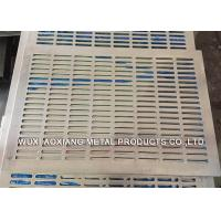 Quality Decorative PVC Coated Perforated Metal Sheet For Petroleum / Foodstuff for sale