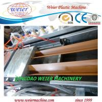 Quality Double Outlet WPC Profile Production Line Extrusion Line For Decking Edge Cover for sale