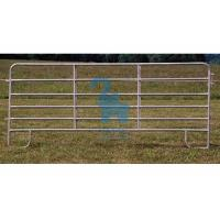 Quality Horizontal Steel Barriers Corral Fence Panels‎ For Cattle / Goat / Pig for sale