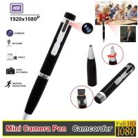 """Quality 1080P Full HD Compact Camera , Hidden Camera Pen Camcoder Million 1/4"""" Inch COMS Sensor for sale"""