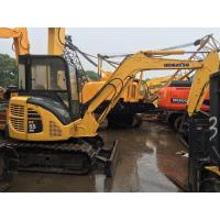 Buy cheap 12V Voltage Used Earth Moving Equipment Komatsu PC55MR With Rubber Track from wholesalers