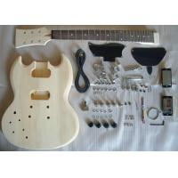Quality Basswood SG Style DIY Electric Guitar Kits Semi - finished Electric Guitar AG-SG1 for sale
