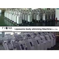 Quality Skin Tightening Vacuum Fat Loss Machine 7MHZ Frequency 45kg White Color for sale