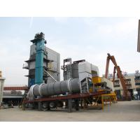 Buy Thermal Oil Heated Mobile Asphalt Batch Mixing Plant With Schneider & Siemens Components at wholesale prices