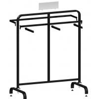 Buy Metal / Wood  Customized Color Display Rack Stand Garment Showrooms  600*500*1000mm at wholesale prices