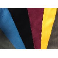 Quality Colored Military Garment / Home Textile Velveteen Fabric Cloth for sale