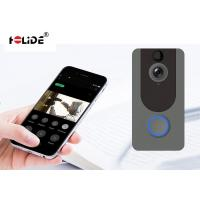 Quality Two Way Talking Doorbell Security Camera System , Digital Doorbell Camera HD 720P for sale