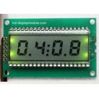 Quality Timing Meter LCD Segment Display TN Mono For Domestic Electrical Appliance for sale