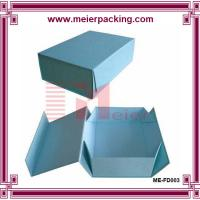 Quality High Quality Blue Chipboard Flip Top Boxes with Magnetic Catch ME-FD003 for sale