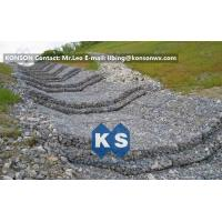 Quality Water And Soil Erosion Preventing Gabion Boxes With Hexagonal Wire Mesh for sale