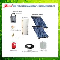 Quality split high pressured solar water heater with ce srcc iso9001 keymark for sale