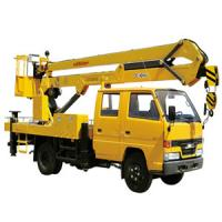 China XCMG Bucket Articulating Truck Mounted Lift , 2T Lifting Capcity on sale