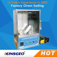 China 400mm * 300mm * 500mm Plastic Flammability Test Chamber / Apparatus , 45°Combustion Flammability Test Equipment on sale