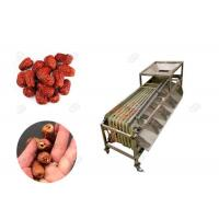 Quality Multifunction Automatic Dates Sorting And Grading Machine With 2000kg/h Dates Process Machinery for sale