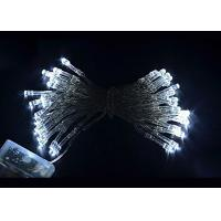 Quality 4.5 Volt Battery Powered LED String Lights 10meter 80 Bulbs Multicolor / White for sale