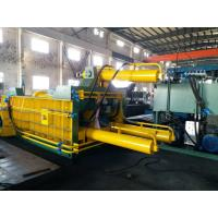 Quality Double Main Cylinder Bale Turn Out Baler Machine For Scrap Metal  / Aluminum for sale