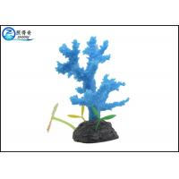 Buy Safety Silicone Rubber Aquarium Tank Decorations , Home Decorative Coral at wholesale prices