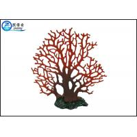 Quality Customized Tree Design Polyresin Aquarium Tank Decorations Fish Coral Ornaments for sale
