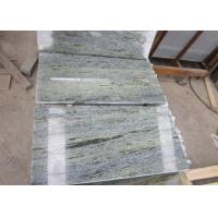 Quality Polished Emeral Green Granite Tiles, Multicolor Green Granite Floor Tiles for sale