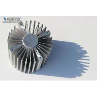 Quality 6060 6061 Aluminum Heatsink Extrusion Profiles Punching Machines ROHS / SGS for sale