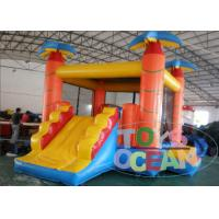 Quality Monkey Jungle Inflatable Jumping Bounce House 4 in 1 Combo For Kid Playing Park for sale
