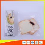 Quality Ziplock Airtight Plastic Sandwich Bags Transparent Eco Friendly Custom Printed for sale
