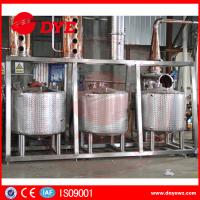Quality Steam Hearting Red Copper Commercial Distillation Equipment Distilling Vodka Alcohol Wine for sale