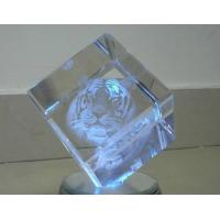 Quality 3D logo Acrylic paperweight for sale