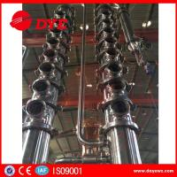 Buy copper mini home laboratory alcohol distillation equipment apparatus at wholesale prices
