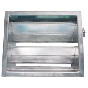Quality Manual Air Duct Damper Clean Room Ventilation Air Damper Actuator Manual Regulation for sale