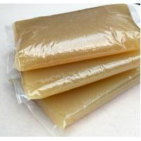 Quality Hot Melt Animal Jelly Yellow Hot Glue For Book Binding Corn Starch Material for sale