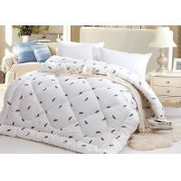 Quality Warm Alternative Down Comforter , Machine Quilting Feather Down Comforter for sale