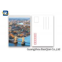 Quality Beautiful Landscape 3d Lenticular Postcard  PET / PP Material Printing Images for sale