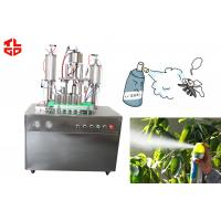Buy Semi Automatic Aerosol Filling Machine For Bacteria Remover / Insecticide Spray at wholesale prices